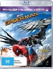 Spider-Man: Homecoming on Blu-ray, 3D Blu-ray, UV