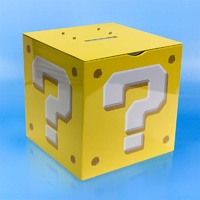 Super Mario: Question Block Money Box