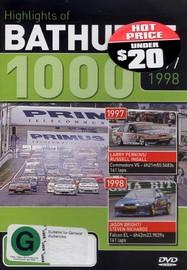 Hightlights of Bathurst 1000 - 1997 / 1998 on DVD image