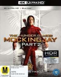 Hunger Games: Mockingjay - Part 2 on Blu-ray, UHD Blu-ray