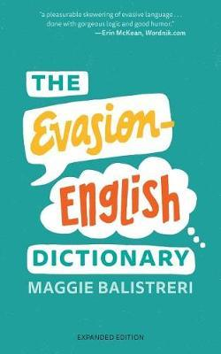 The Evasion-English Dictionary by Maggie Balistreri image