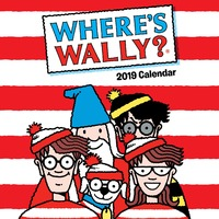 Where's Wally 2019 Square Wall Calendar
