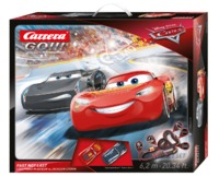 Carrera: Go!!! Disney Pixar Cars - Fast not Last Slot Car Set (Lightning McQueen/Storm)