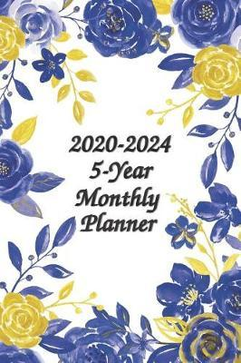 2020-2024 5-Year Monthly Planner 6x9 by Prestige