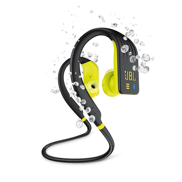 JBL Endurance DIVE Waterproof Wireless In-Ear Sport Headphones with MP3 Player - Yellow