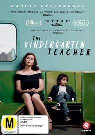 The Kindergarten Teacher on DVD image