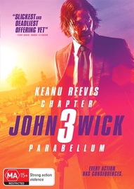 John Wick: Chapter 3 - Parabellum on DVD image