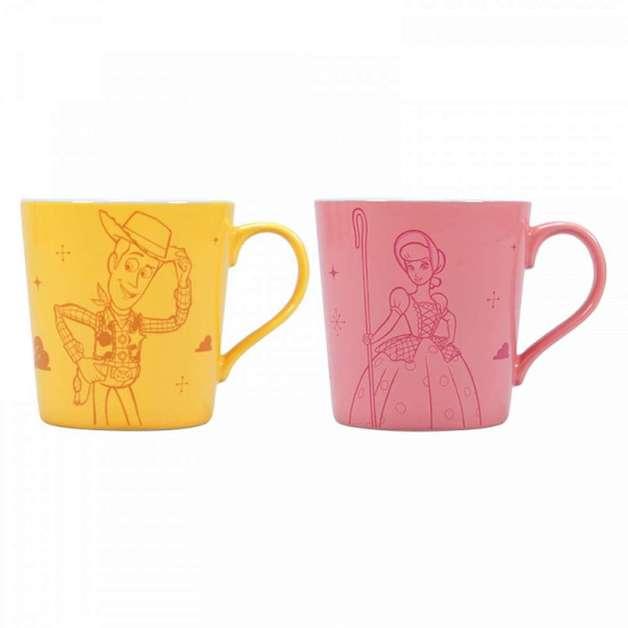 Disney: Toy Story Mug - Woody & Bo Peep Tapered (Set Of 2)