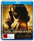 Columbiana on Blu-ray