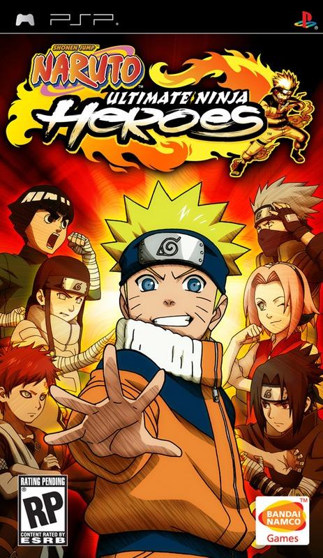 Naruto: Ultimate Ninja Heroes (Platinum) for PSP