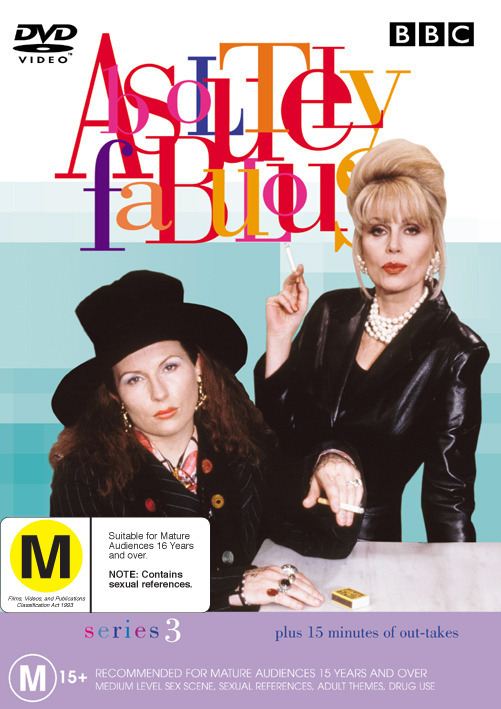 Absolutely Fabulous Series 3 on DVD