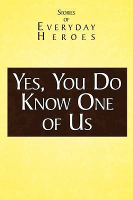 Yes You Do Know One of Us by RAINN Speaker's Bureau