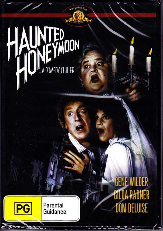 Haunted Honeymoon on DVD