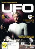 UFO - The Complete Shado File: Incidents 1-26 (8 Disc Set) DVD