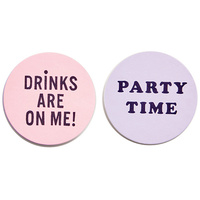 Ban.do Drinks Coasters (Set Of 16)