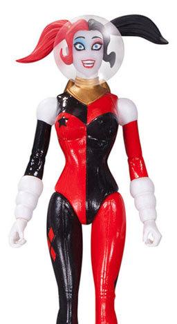 DC Comics Designer Series Retro Rocket Harley Quinn Action Figure image