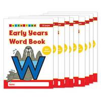 Early Years Wordbook by Lyn Wendon image