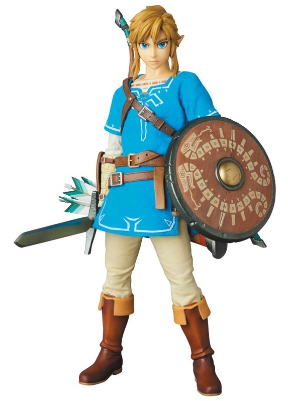 The Legend of Zelda RAH: Link (Breath of the Wild ver.) - Articulated Figure
