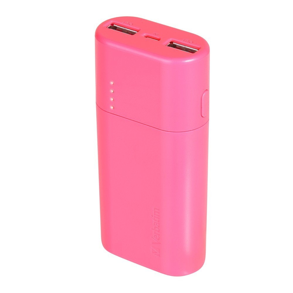 Verbatim 5,200 mAh Power Pack (Pink) image