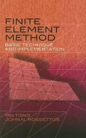 Finite Element Method by Pin Tong image