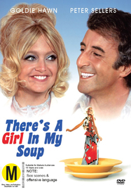 There's a Girl in my Soup on DVD