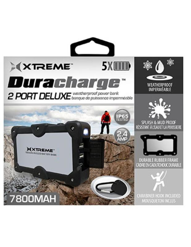 Xtreme: 7,800Mah Duracharge Deluxe Waterproof Power Bank