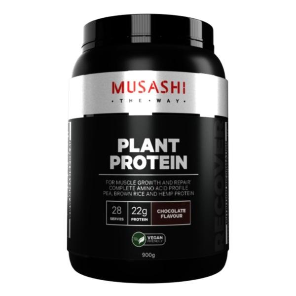 Musashi Plant Protein - Chocolate (900g)