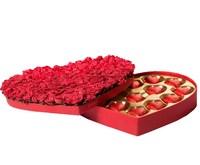 Bind Chocolates: Heart Box - Roses (225g)