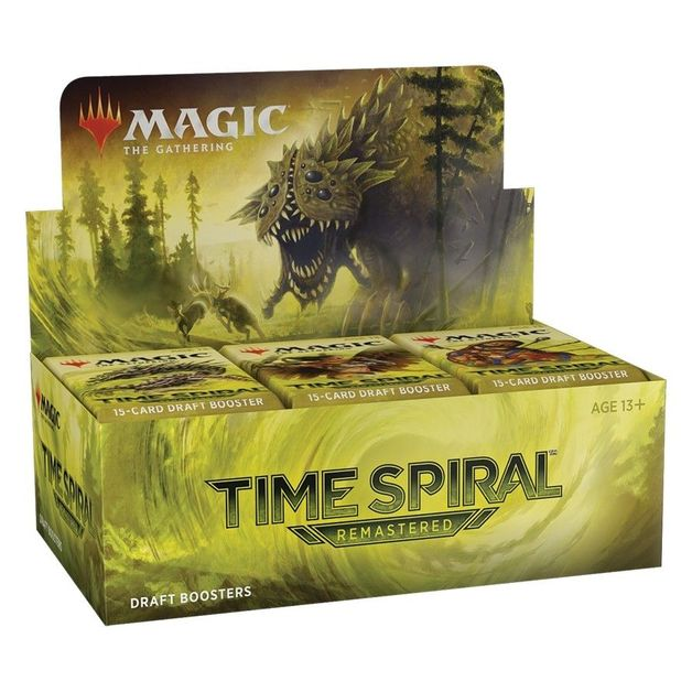 Magic Time Spiral Remastered Draft Booster Box