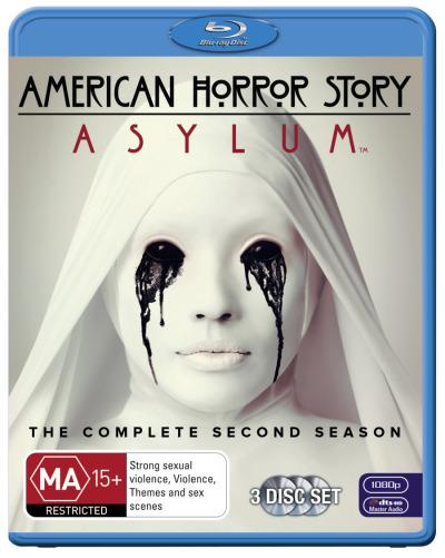 American Horror Story: Asylum - The Complete Second Season on Blu-ray