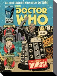 Doctor Who Comic Canvas -The Origin of Davros