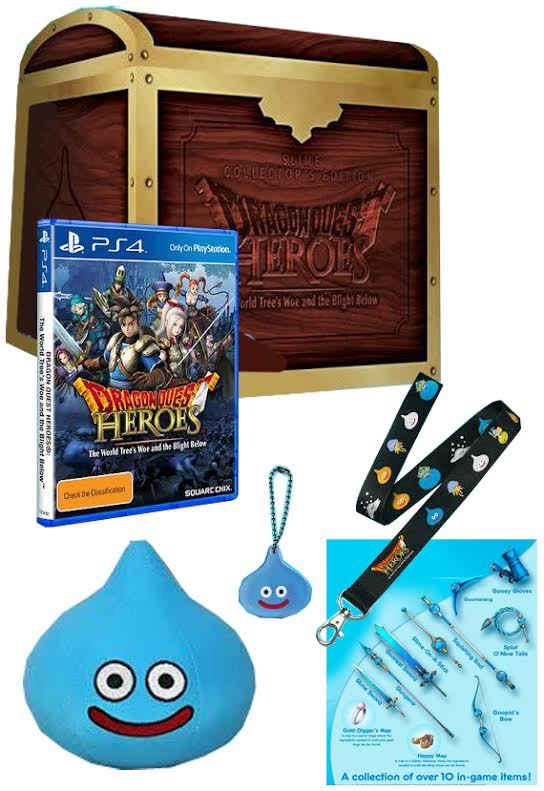 Dragon Quest Heroes Slime Collector's Edition | PS4 | Buy Now | at