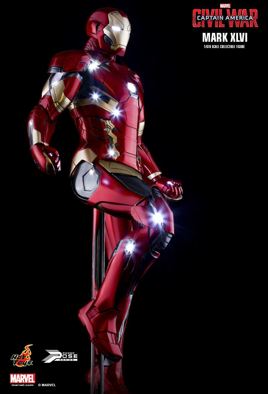Captain America: Civil War - Iron Man Mark XLVI 1:6 Scale Figure image