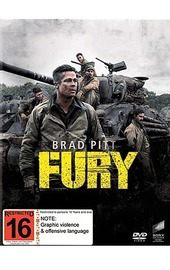 Fury on DVD