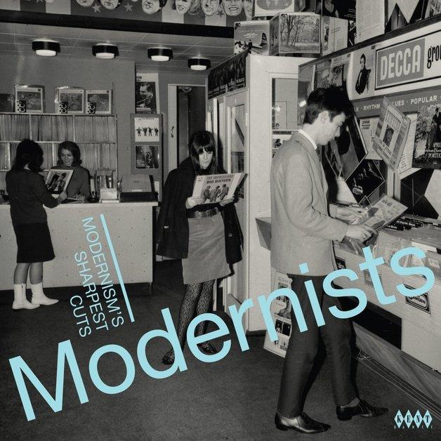 Modernists: Modernism's Sharpest Cuts (LP) by Various Artists