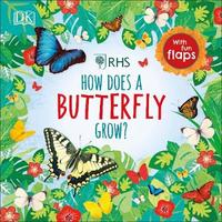 RHS How Does a Butterfly Grow? by Royal Horticultural Society