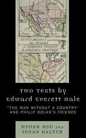 Two Texts by Edward Everett Hale by Hsuan Hsu image