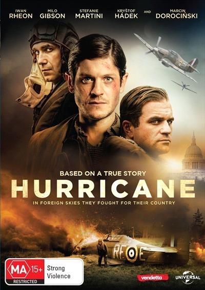 Hurricane on DVD image