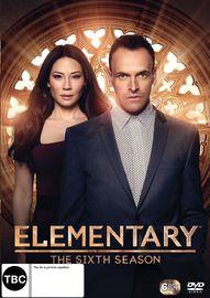 Elementary - The Sixth Season on DVD image