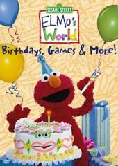 Elmo's World - Birthdays, Games & More on DVD