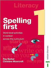 Spelling First: Level 1: Student's Book by Ray Barker image