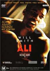 Ali on DVD
