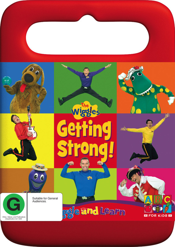 Wiggle and Learn - Getting Strong on DVD
