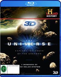 The Universe - 7 Wonders of the Solar System on Blu-ray, 3D Blu-ray