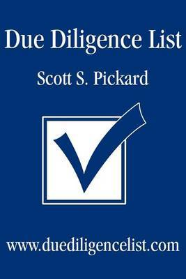 Due Diligence List by Scott S Pickard image