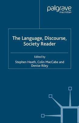 The Language, Discourse, Society Reader by Denise Riley image