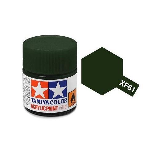 Tamiya Acrylic: Dark Green (XF61)