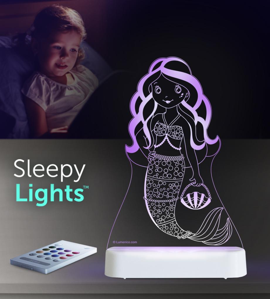 Aloka: Night Light - Mermaid image