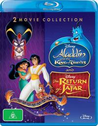 Aladdin and the King of Thieves / The Return of Jafar (2 Movie Collection) on Blu-ray