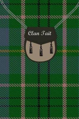 Clan Tait Tartan Journal/Notebook by Clan Tait